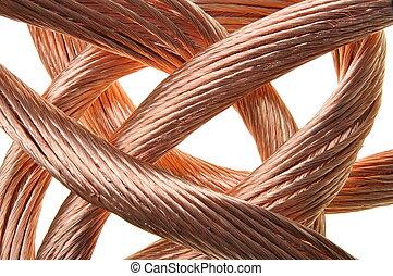 銅, 工業, 電線, 紅色