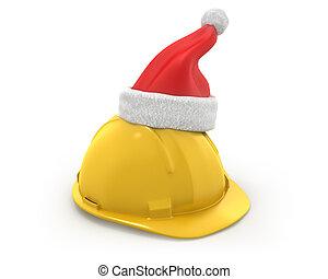 鋼盔, 克勞斯, 圣帽子, 黃色的頂部