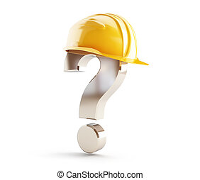 鋼盔, 建設, 問號