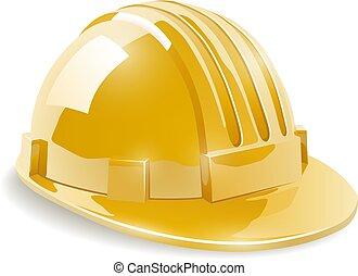 鋼盔, 建設, 安全, 黃色