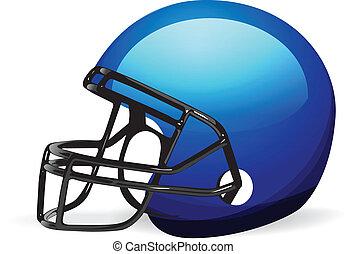 鋼盔, 白色, 足球