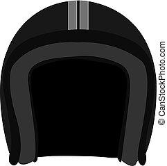 鋼盔, 矢量, 黑色, 插圖, 第一流