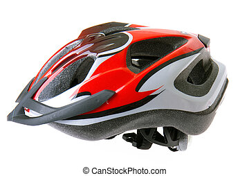 鋼盔, 自行車