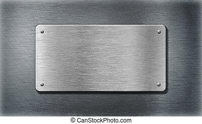 鋼, 不鏽純潔, 金屬盤子