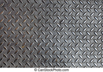 鋼, 地板, 宏, 灰色, 鄉村, 背景, textured