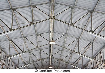 鋼, 屋頂結构