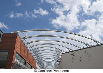鋼, 玻璃, 屋頂
