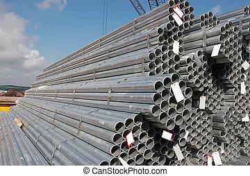 鋼, 管子, 工業