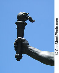 鋼, libert, 手