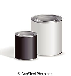 錫罐, 空白