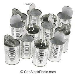 錫罐, 空