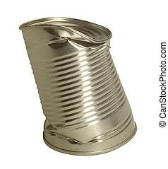 錫, 彎曲, 罐頭
