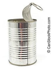錫, 打開, 罐頭, 空