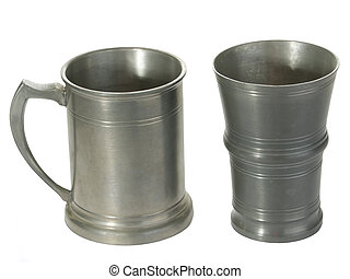 錫, 杯子, 二