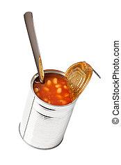 錫, 豆, 罐頭