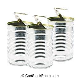錫, ringpull, 罐頭