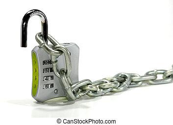 鎖, 結合