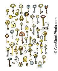 鑰匙, 略述, 彙整, 設計, 你