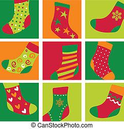 長襪, 漂亮, 聖誕節