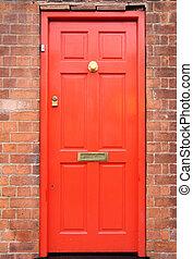 門, 紅色