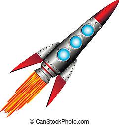 開始, 火箭