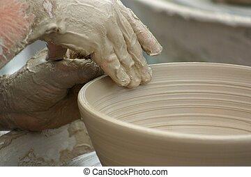 陶器, 黏土