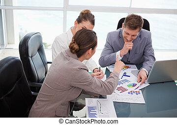 隊, 在上方, 事務, 研究, 市場, 討論