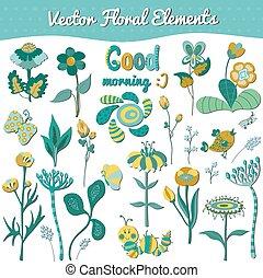 集合, 元素, 植物