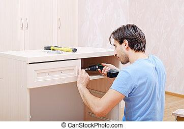 集合, 家具, 修理者