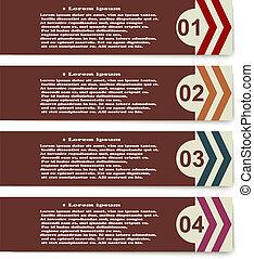 集合, 箭, 元素, 背景, infographics, 白色
