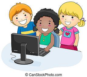 電腦, 孩子