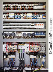 電, 控制面板