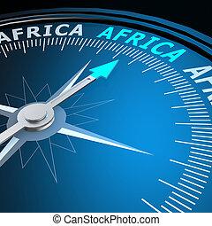 非洲, 詞, 指南針