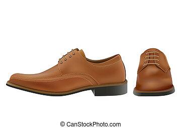 鞋子, 人