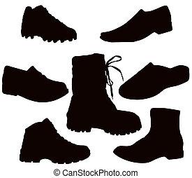 鞋類, 人