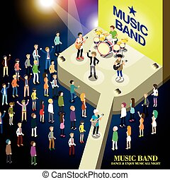 音樂, 概念, 結合, 音樂會