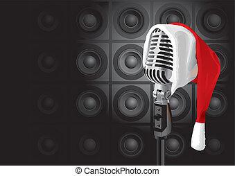 音樂, 聖誕節, (vector), 事件