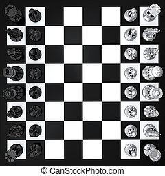 頂部, 國際象棋, 看法