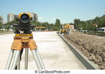項目, 設備, 建設, 基礎設施, 測量