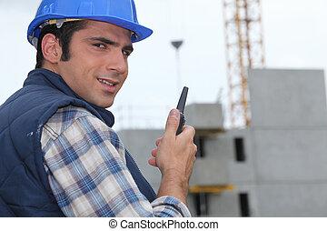 領班, 建築工地