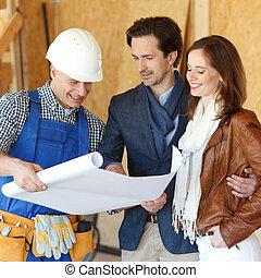 領班, 計划, 房子, 顯示, 設計