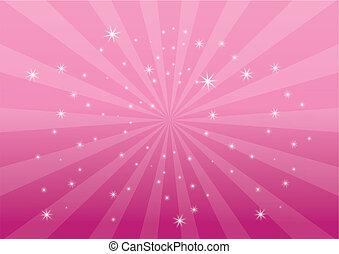 顏色背景, 粉紅色, 光