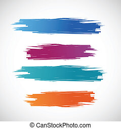 顏色, 墨水, 插圖, 旗幟