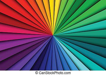 顏色, 摘要, 線, 光譜, 背景