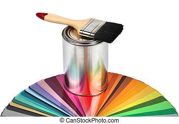 顏色, 染料灌木地帶, 樣品, 指南