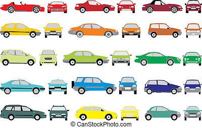 顏色, 汽車