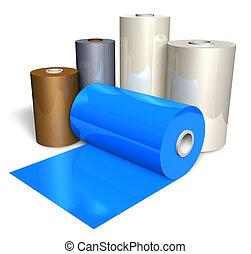 顏色, 磁帶, 勞易斯勞萊斯, 塑料