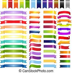 顏色, 网, 帶子, 箭, 大