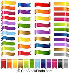 顏色, 网, 集合, 帶子