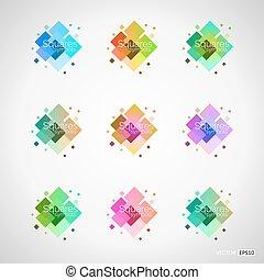 顏色, 裝置設計, 元素